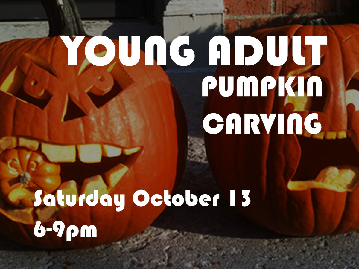 Young Adult Pumpkin Carving